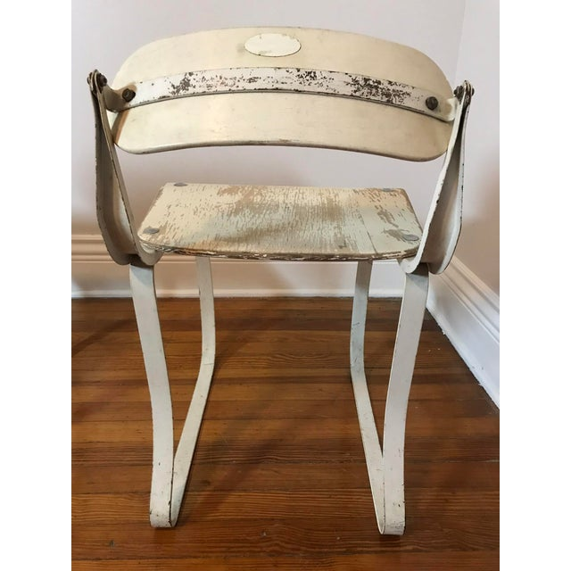 White Ironite Health Chairs by Herman Sperlich - A Pair For Sale - Image 8 of 9