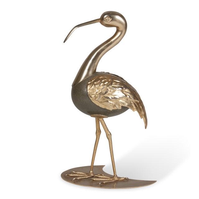 Brass Standing Ibis Sculpture - Image 6 of 7