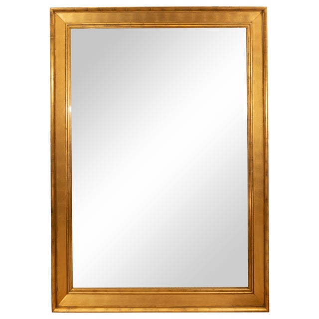Tall Giltwood Mirror For Sale In New York - Image 6 of 6