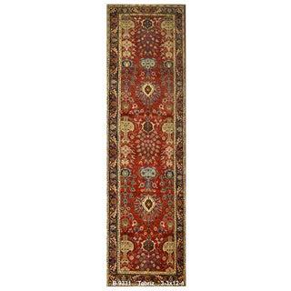 Vintage Persian Tabriz Rug - 3′3″ × 12′4″ For Sale
