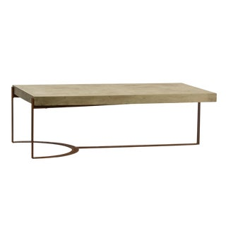 Industrial Modern Outdoor Coffee Table For Sale