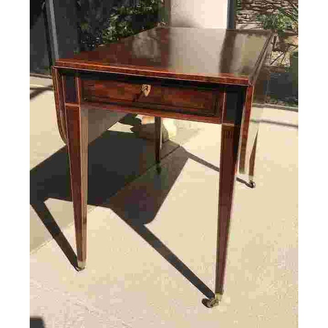18th C. George III Pembroke Table For Sale - Image 10 of 11