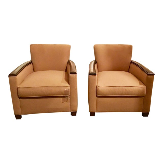 Pearson Co. Theodora Chairs - A Pair - Image 1 of 8