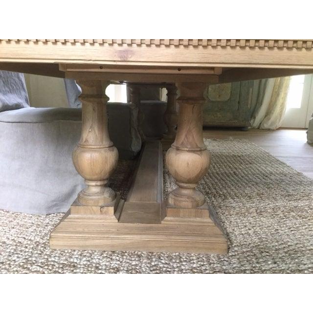 Restoration Hardware St. James Rectangular Extension Dining Table ...