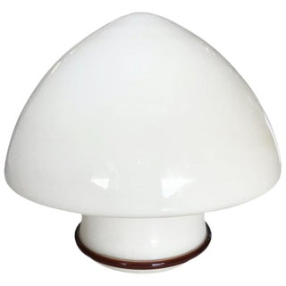 Italian Murano Glass Table Lamp by De Majo For Sale