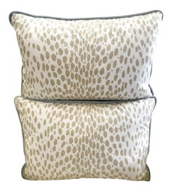 Image of Taupe Pillows
