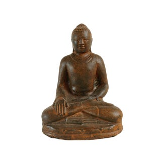 Cast Stone Garden Buddha For Sale
