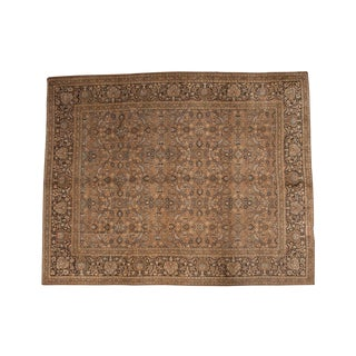 "Vintage Meshed Carpet - 9'8"" X 12'2"" For Sale"