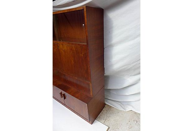 Mid Century Rosewood Secretary Writing Desk Chairish