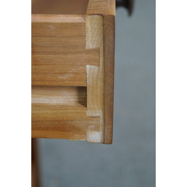 Stickley Mission Style Solid Cherry Nightstand - Image 5 of 10