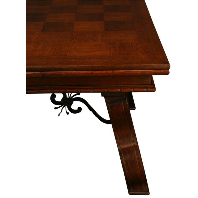 Vintage French Renaissance-Style Dining Table For Sale - Image 4 of 12