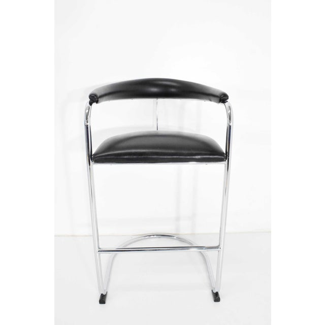 Anton Lorenz for Thonet Bar Stool For Sale - Image 9 of 11