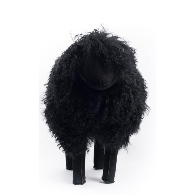 Tibetan Medium Black Sheep For Sale - Image 4 of 5