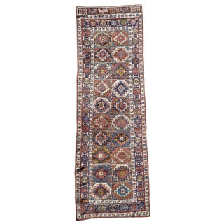 Shahsevan Runner Rug - 3′5″ × 10′2″ For Sale