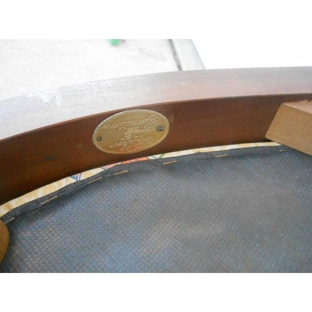 Vintage Baker Furniture Biedermeier Fruitwood Dining Chairs - A Pair - Image 7 of 7