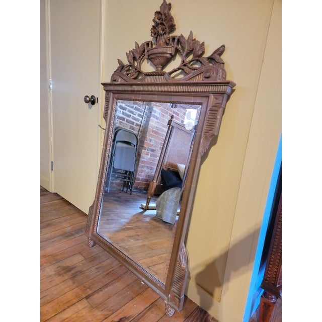 20th Century French Grand Gilt Mirror From Waldorf Astoria For Sale In Raleigh - Image 6 of 10