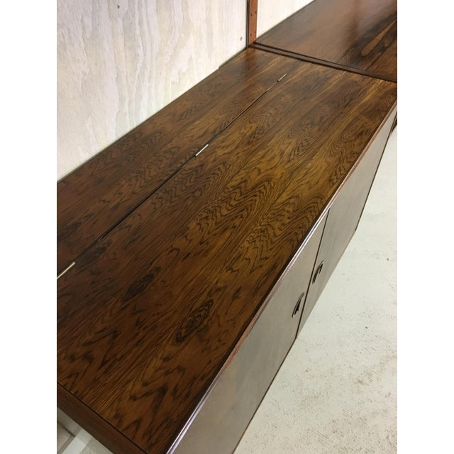 HG Danish Rosewood Wall Mounted Unit by Rud Thygesen and Johnny Sorenson For Sale In Boston - Image 6 of 13