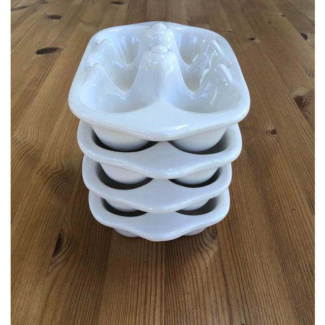 Ceramic Italian Ceramic Egg Cartons - Set of 4 For Sale - Image 7 of 12