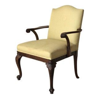 19th Century Irish Arm Chair For Sale