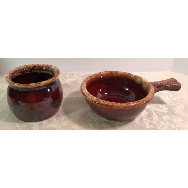 Hull & McCoy Drip Glaze Dishes - Set of 13 - Image 10 of 11