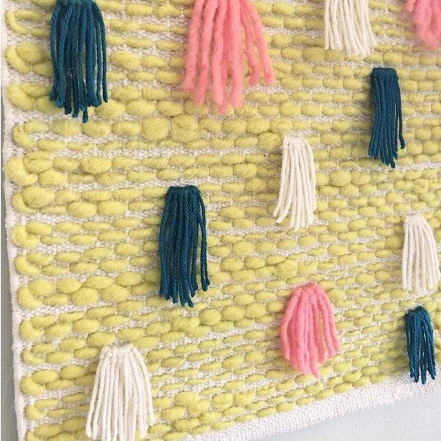 Pastel Tassel Wall Weaving - Image 3 of 4
