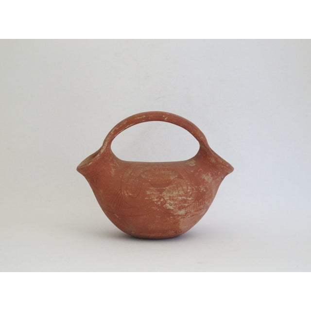 Native American Style Two Sided Vessel - Image 3 of 6