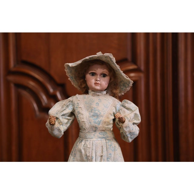 French Tall 19th Century French Porcelain Musical Automaton Jumeau Doll For Sale - Image 3 of 8