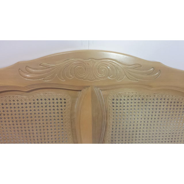 French Provincial Queen Size Headboard - Image 7 of 10