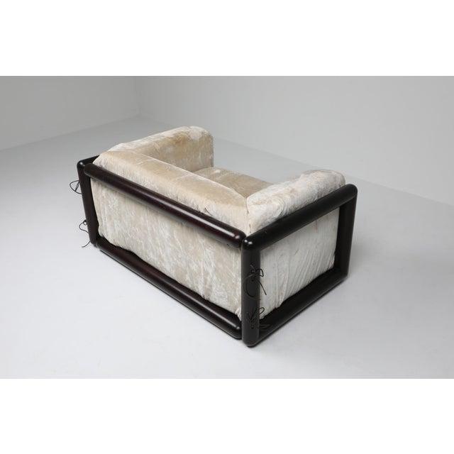 Asian Carlo Scarpa 'Cornaro' Lounge Chair for Simon, 1973 For Sale - Image 3 of 12