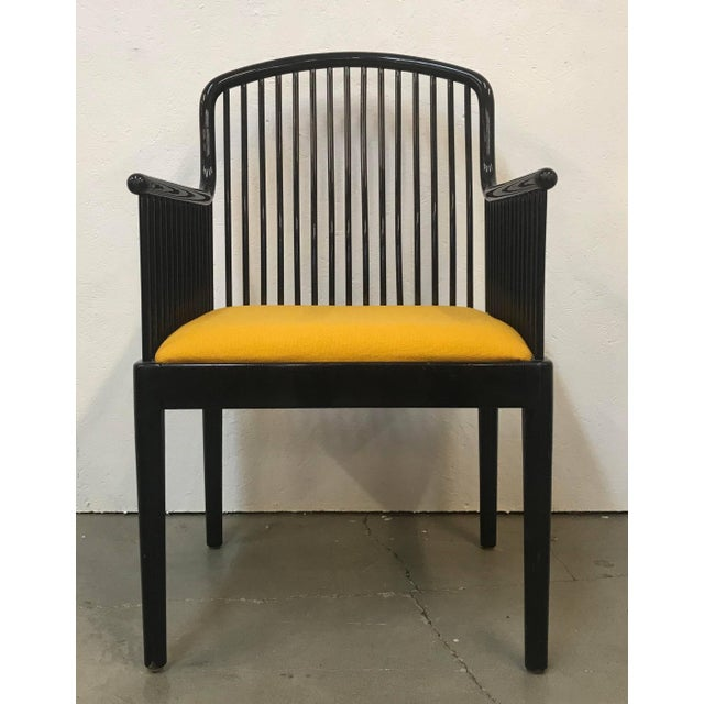 """Set of 14 Yellow Davis Allen """"Andover"""" Chairs for Stendig For Sale In Dallas - Image 6 of 9"""