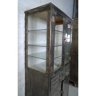 Vintage Industrial Metal Cabinet Preview