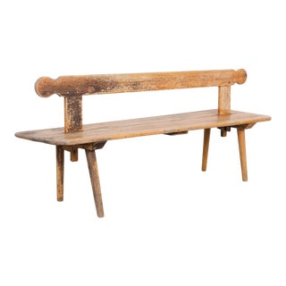 Late 19th Century French Double Bench For Sale