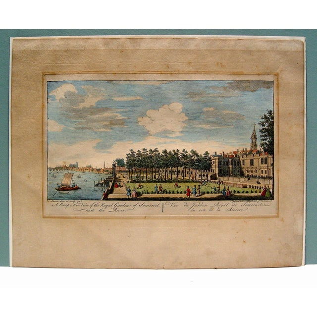 Royal Gardens of Somerset, 1748 For Sale - Image 4 of 4