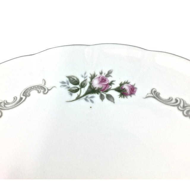 1950s Vintage Porcelain Luncheon Set, Svc for 8 For Sale - Image 5 of 11