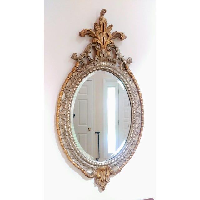 Antique Gilded Wall Mirror - Image 2 of 5