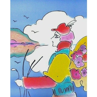 Peter Max On a Distant Planet 1979 For Sale