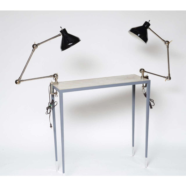 Architecural Clamp Lamp - Sold Individually - Image 2 of 10