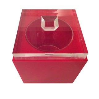 Alessandro Albrizzi Lucite Ice Bucket