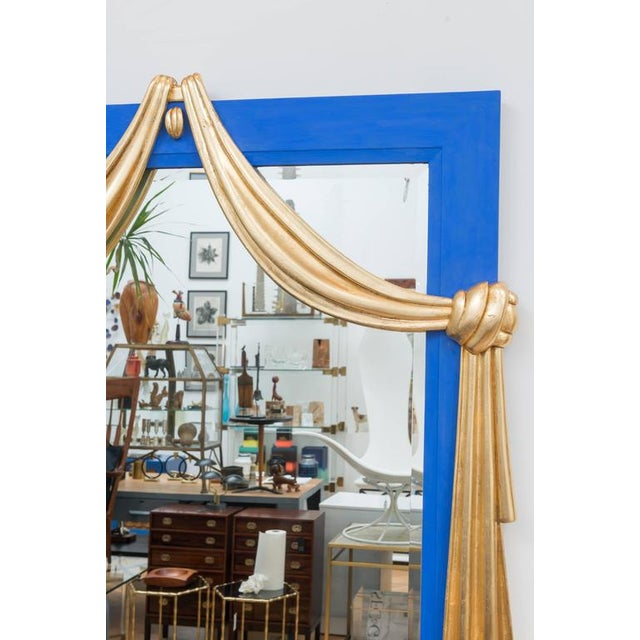 Gilt Dorothy Draper Style Mirror For Sale - Image 5 of 7
