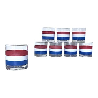 Briard Lowball Glasses - Set of 8 For Sale