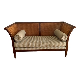 Baker Neoclassic Settee - Milling Road Collection For Sale