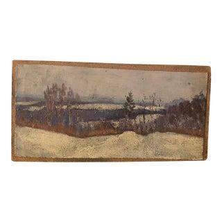 Original Russian Landscape Oil Painting For Sale