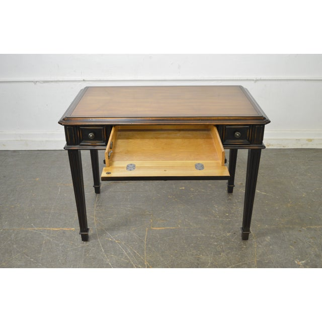 Hooker Furniture French Louis XVI Style Writing Desk For Sale - Image 5 of 10