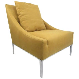 Contemporary Modern Italian Lounge Chair by Antonio Citterio For Sale