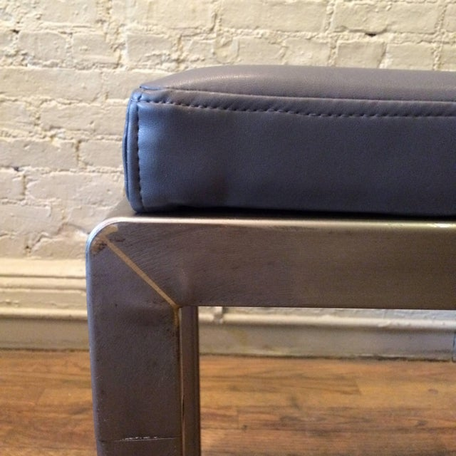 1930s Vintage Norman Bel Geddes for Simmons Art Deco Ottomans- A Pair For Sale In New York - Image 6 of 9