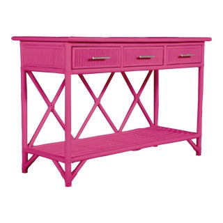 Aruba Sideboard - Bright Pink For Sale