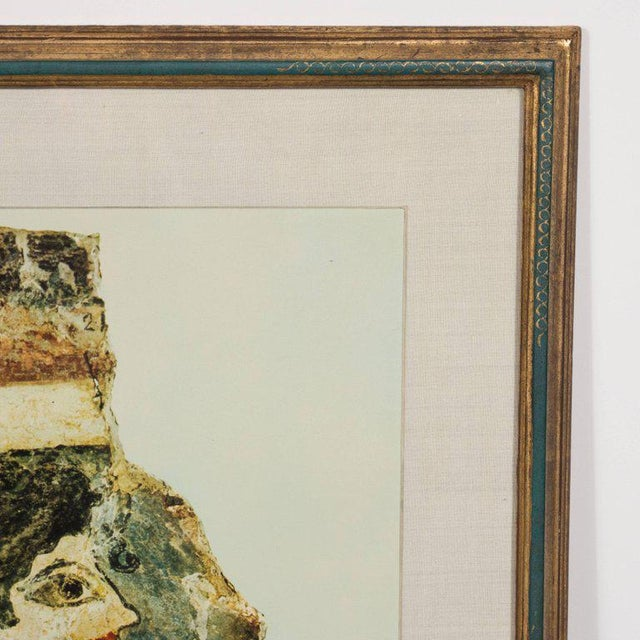 Modernist Print of a Greek Antiquities Pottery Fragment in Custom Gallery Frame For Sale In New York - Image 6 of 10