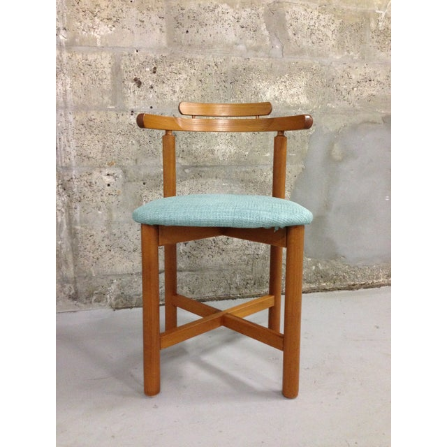 Vintage Danish Mid Century Modern Dining Chair - Image 4 of 9