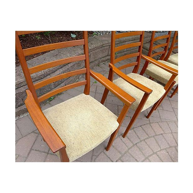 Mid Century Modern Dining Chair Set - Set of Four - Image 6 of 7
