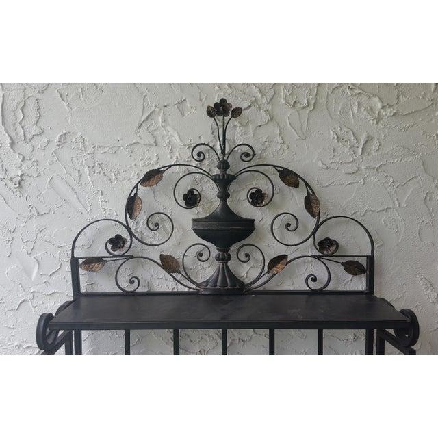 Wrought Iron Plant Shelf Chairish
